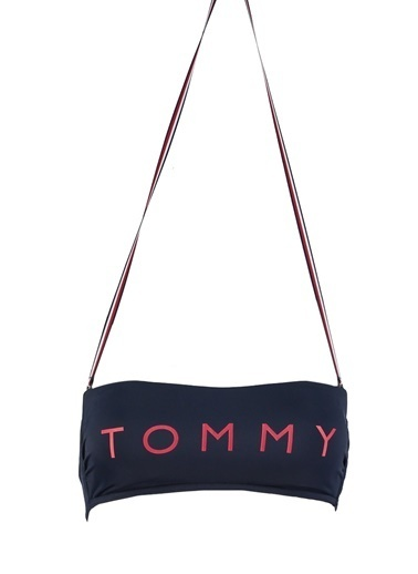 Tommy Hilfiger Bikini Üst Lacivert